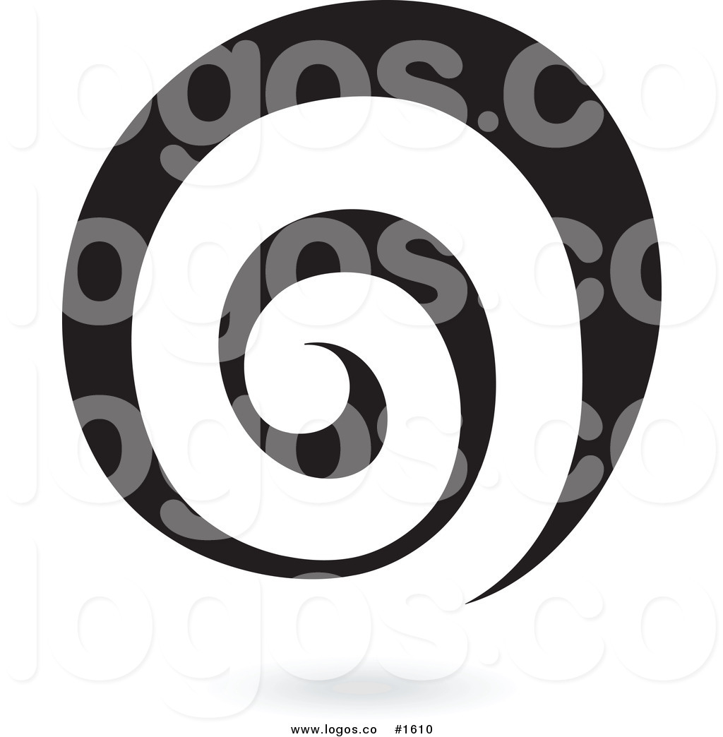 Royalty Free Vector Black Spiral Logo Logo by cidepix.