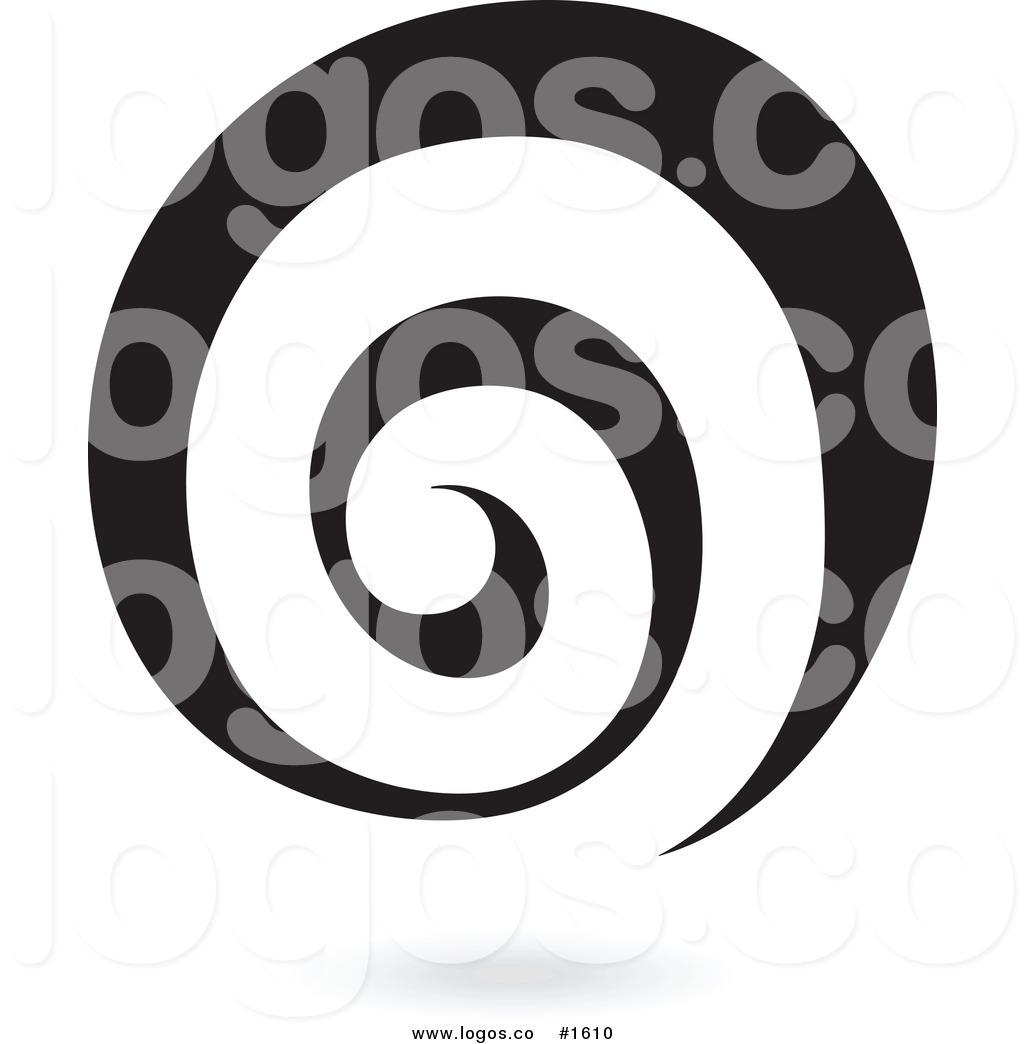 Royalty Free Vector Black Spiral Logo Logo by cidepix.
