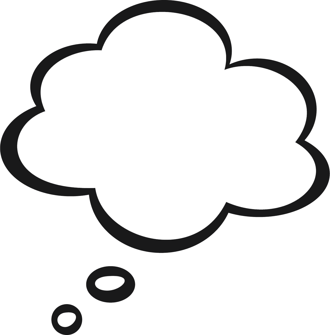 Free Clip art of Cloud Clipart Black and White #1642 Best Student.