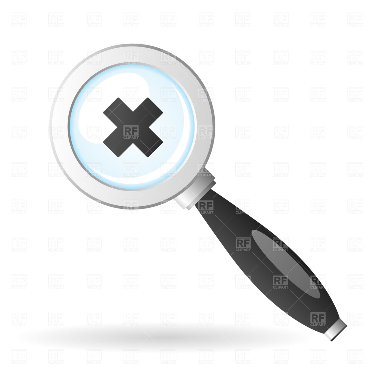 Magnifying glass icon Vector Image #1685.