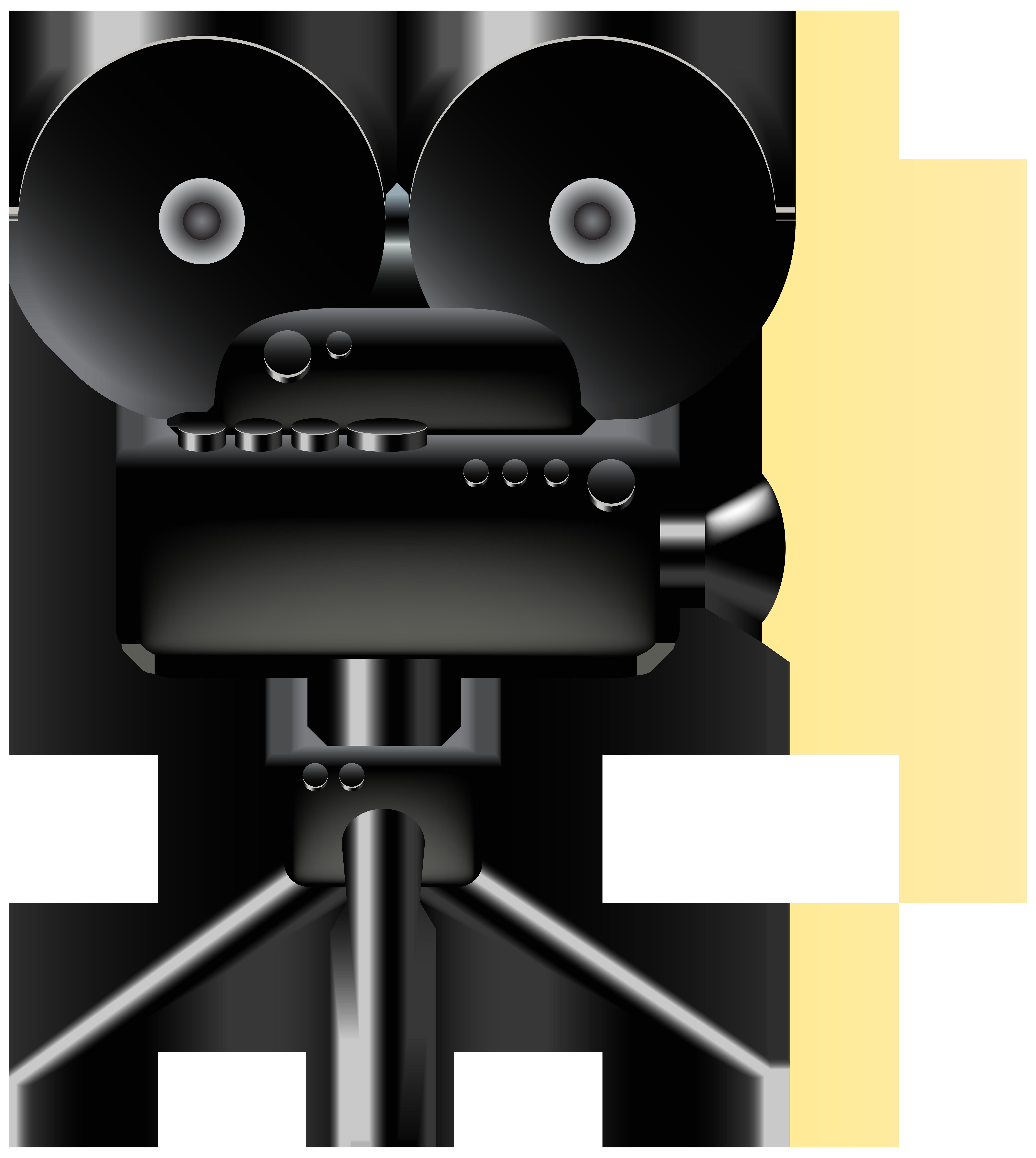 Cine Camera PNG Clip Art.
