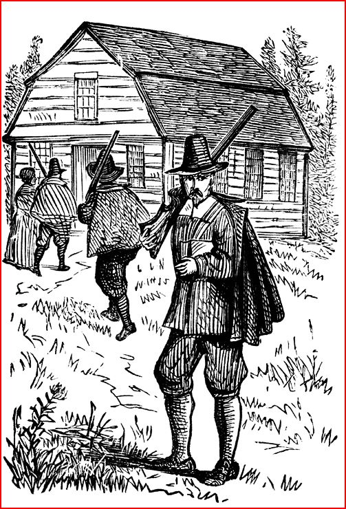 Pilgrims, Puritans, Americans?.