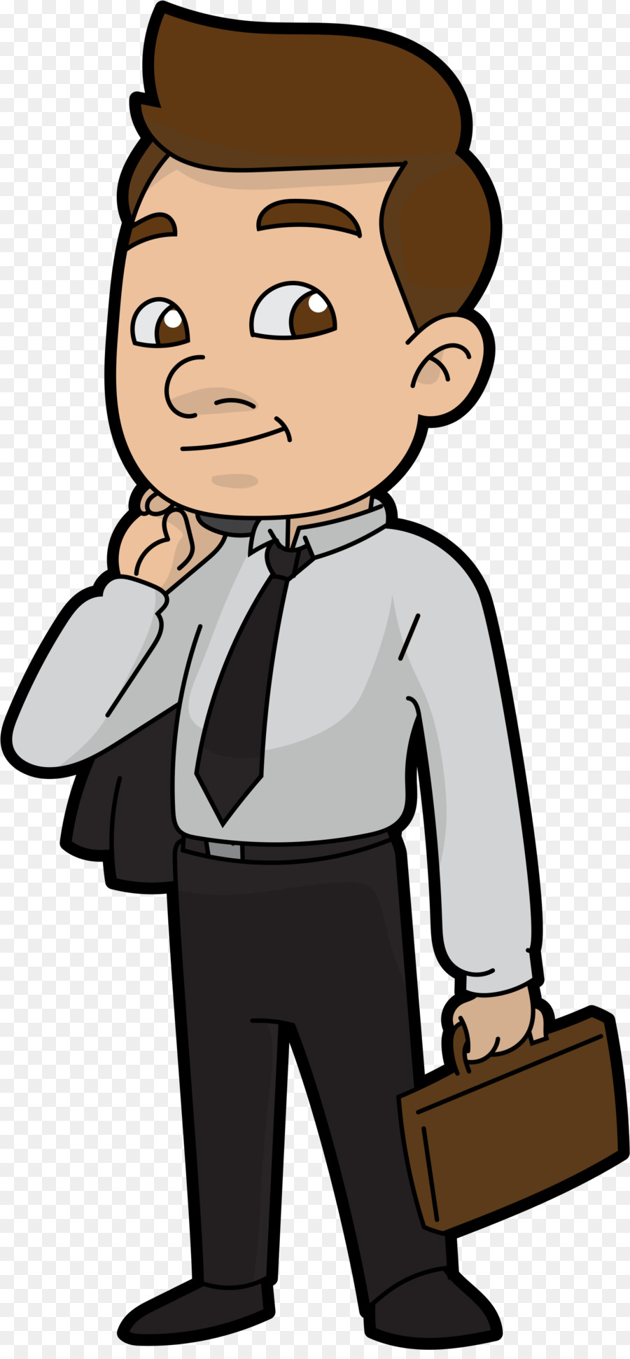 Businessperson Clip art Portable Network Graphics Cartoon Image.
