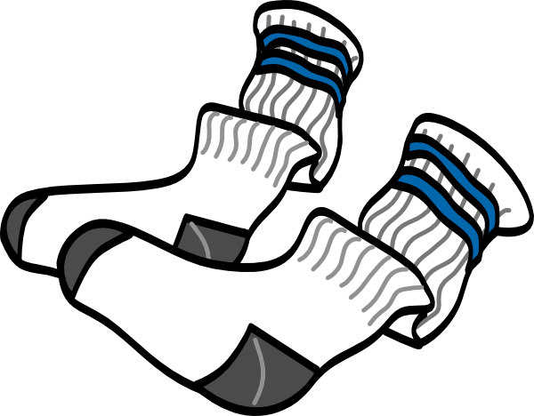 Athletic Crew Socks Clip art.