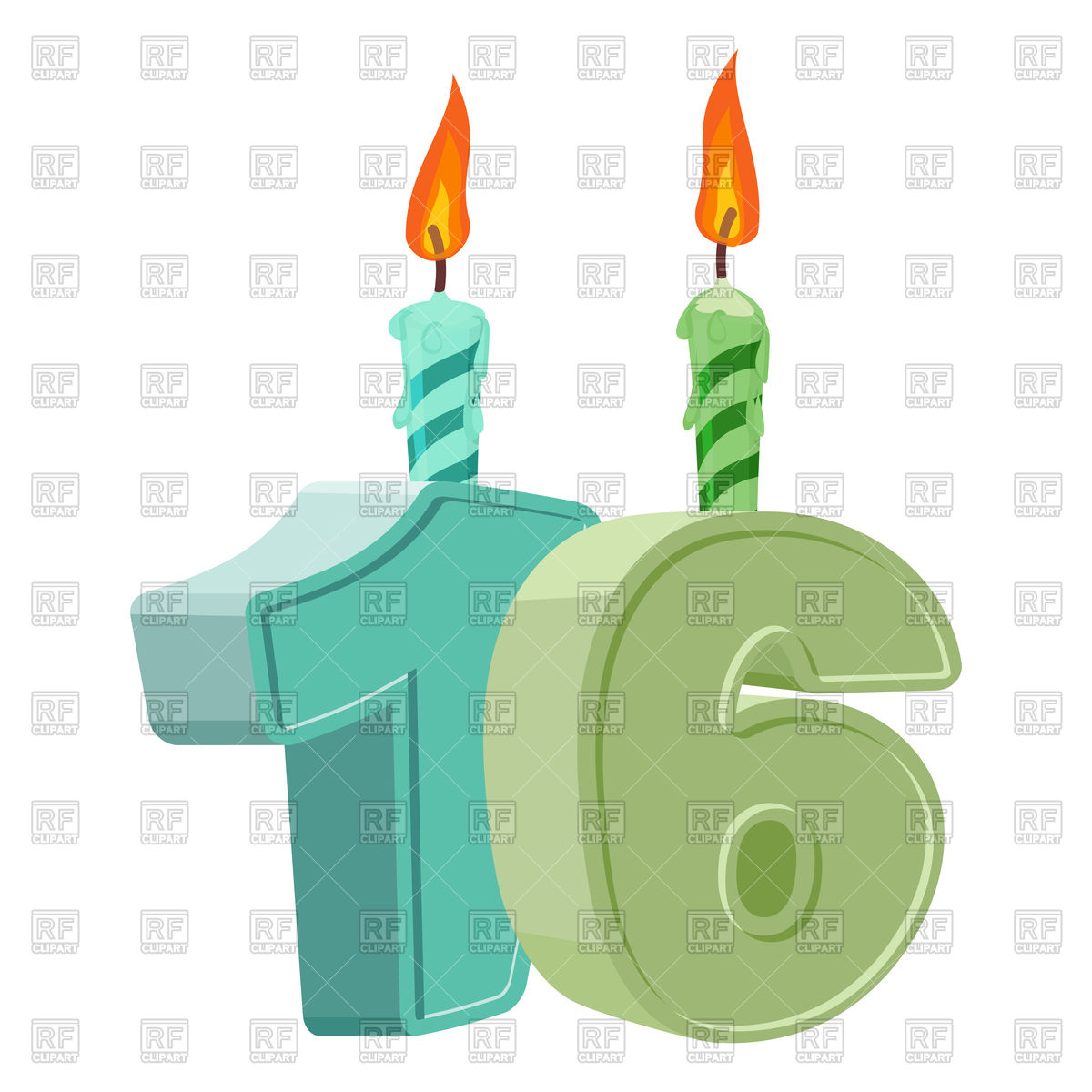 16th birthday clipart #6