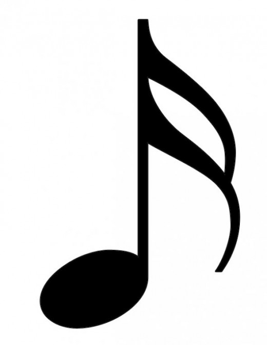 Sixteenth Note Clipart.