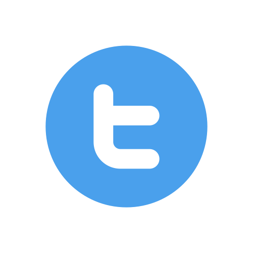 Simple Twitter 16x16 Icon Png #45594.