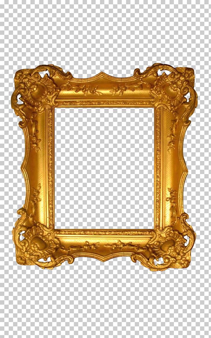 18th century Wig Fashion Haute couture Rococo, gold frame.