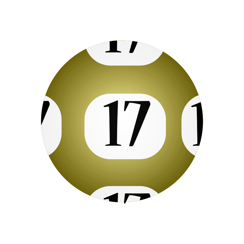 Free Clipart: #17 Lotto Ball.