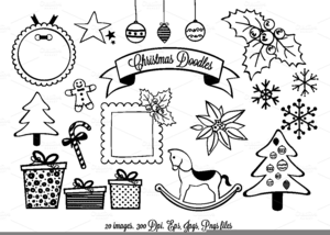 Free Black And White Candy Cane Clipart.