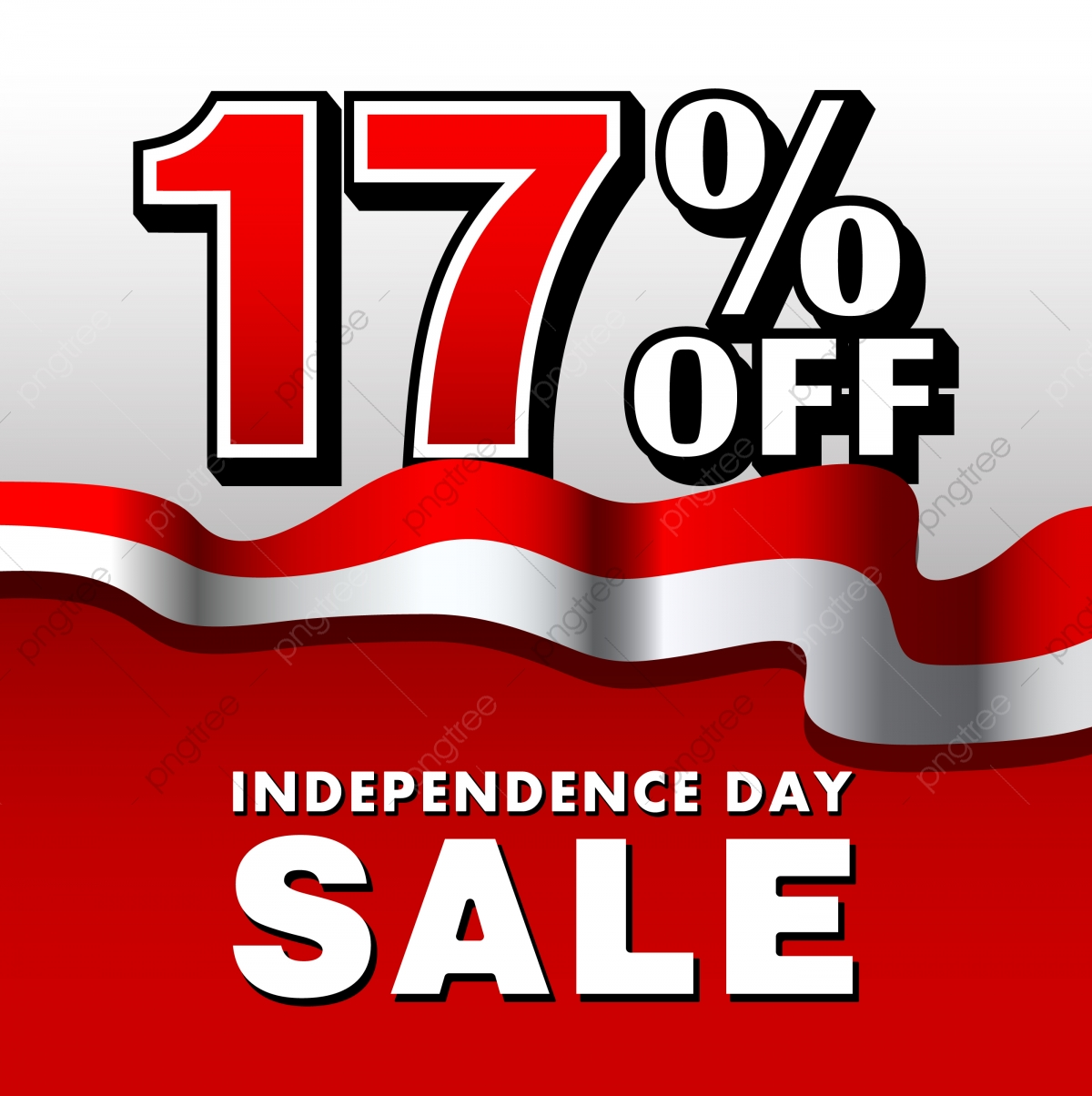 17 Indonesia Independence Day Sale Poster, Jpg, Sale, Discount PNG.