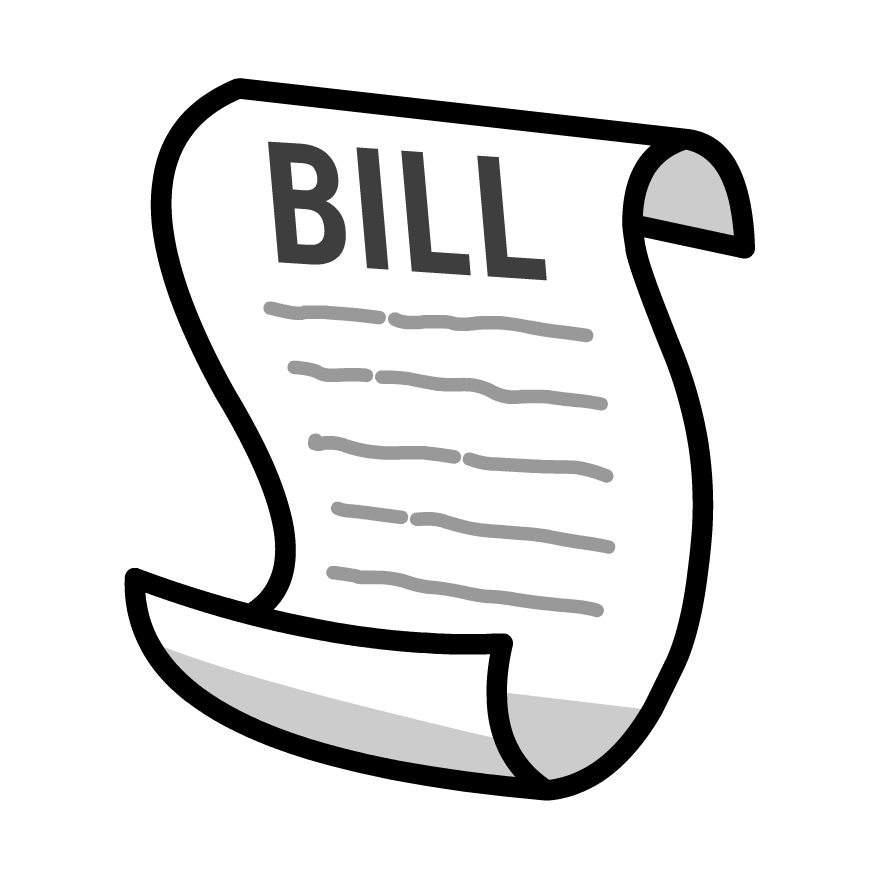 Bill Clipart #170.