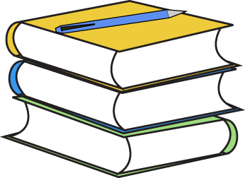 Stack Of Books Clipart #170.