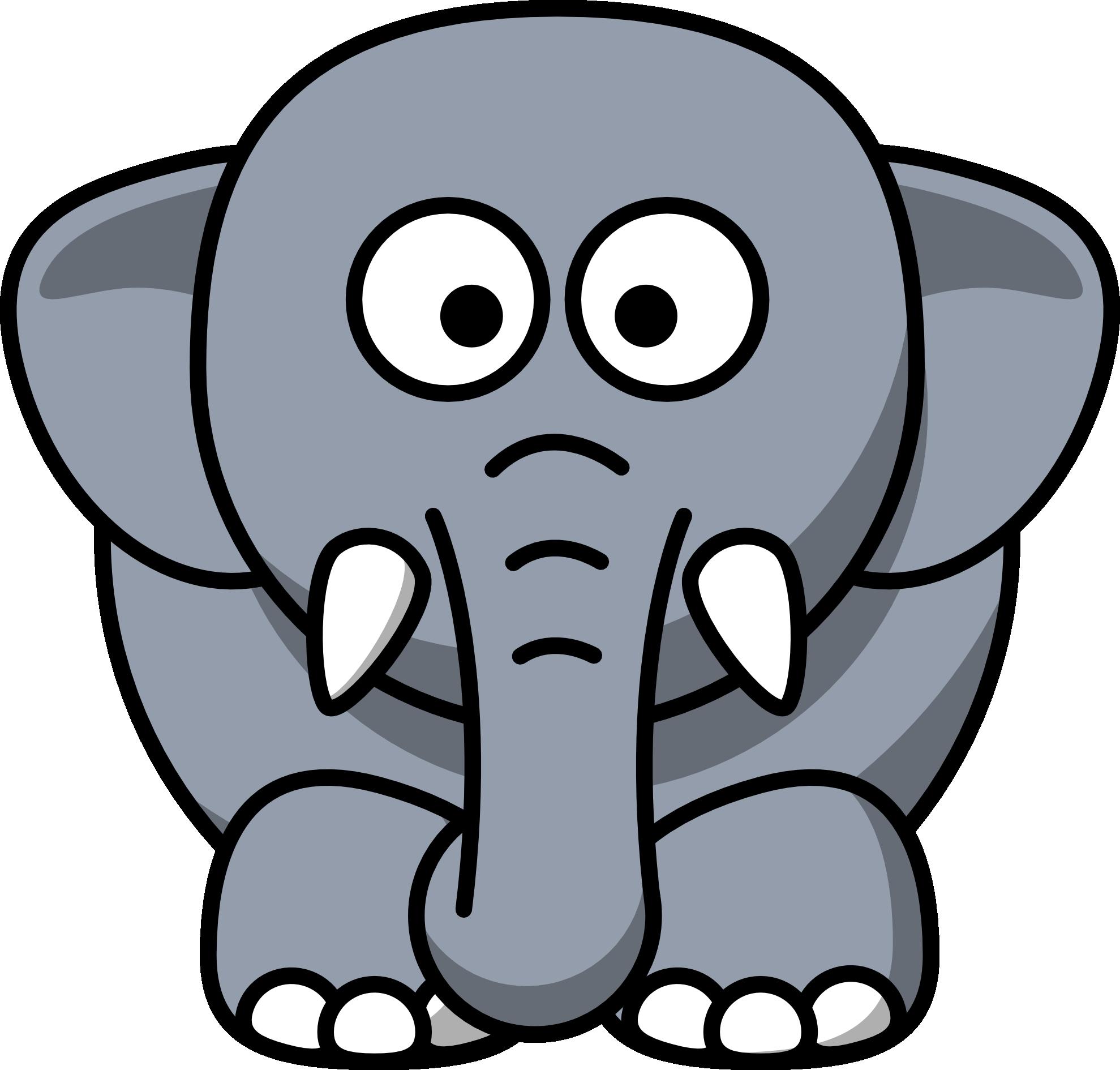 Elephant Clipart #170.