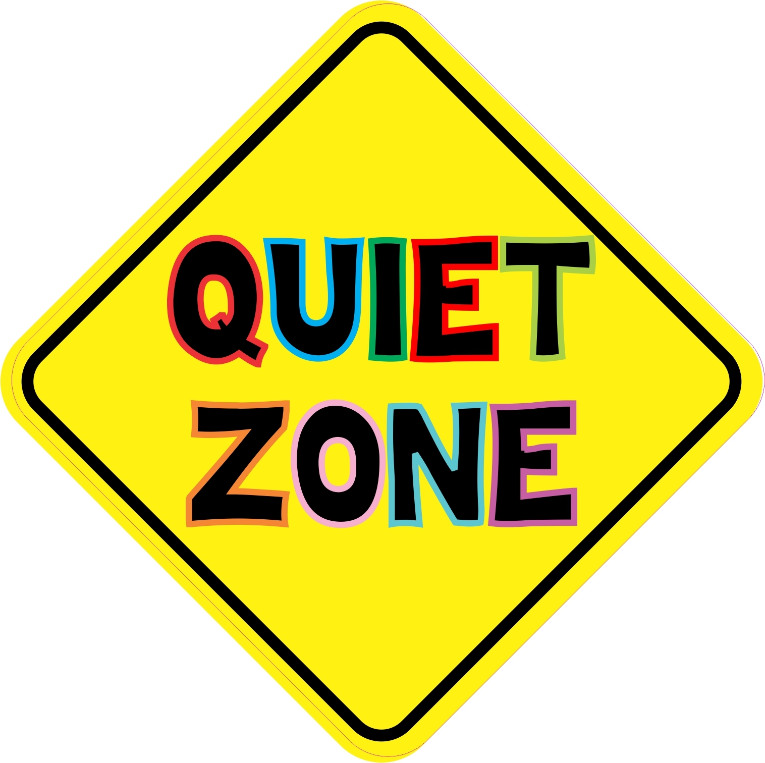 Keep quiet sign clipart clipart images gallery for free.