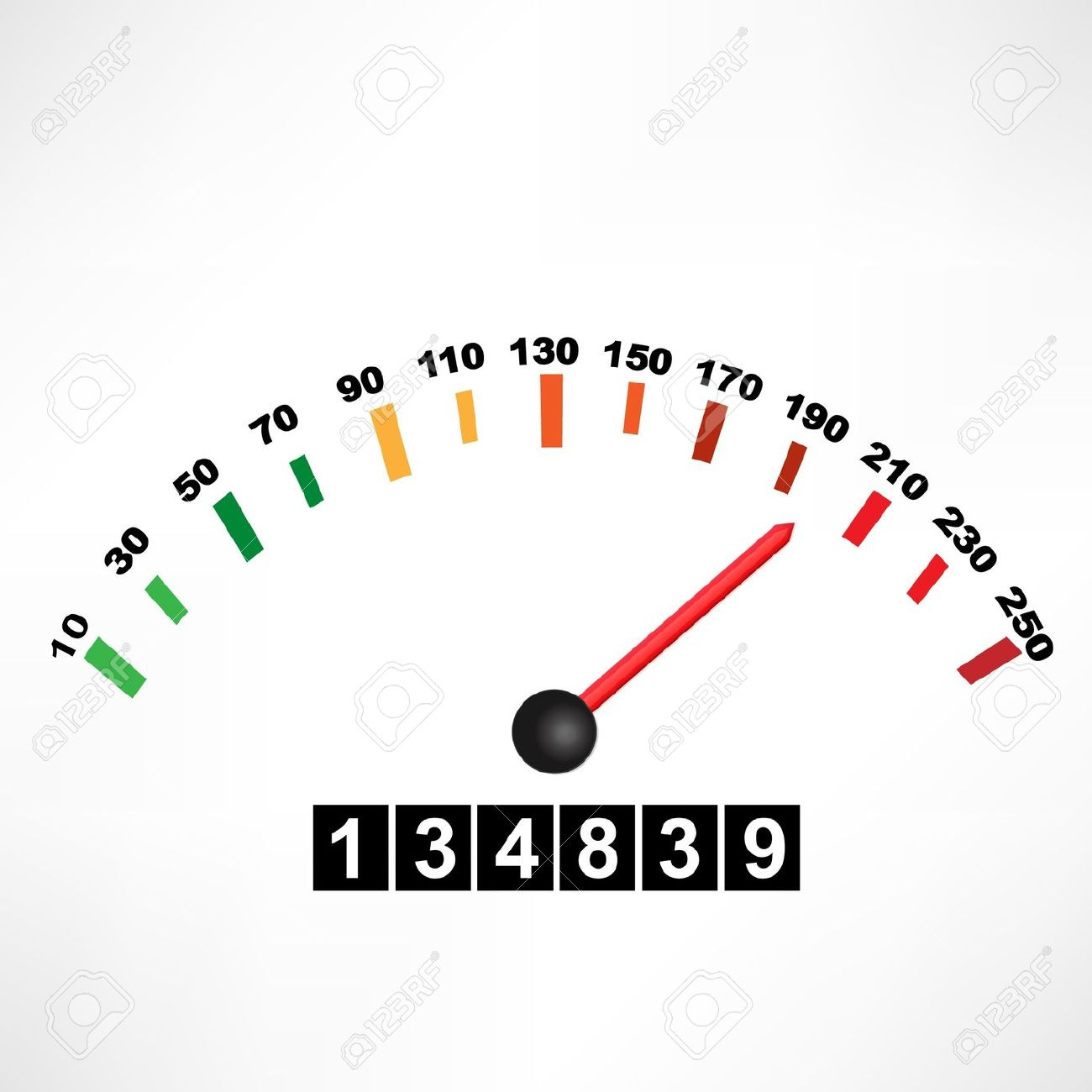 Car Speedometer Royalty Free Cliparts, Vectors, And Stock.