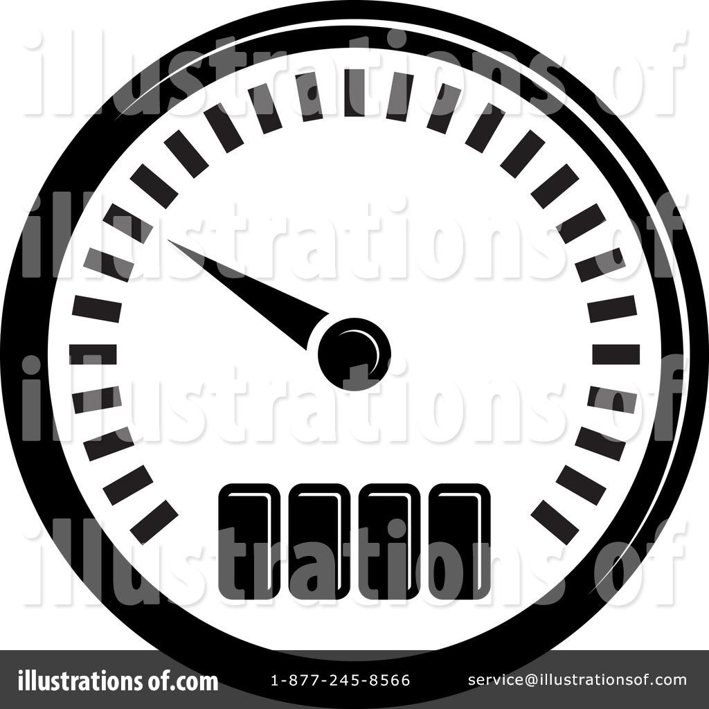 Speed Meter Clip Art.