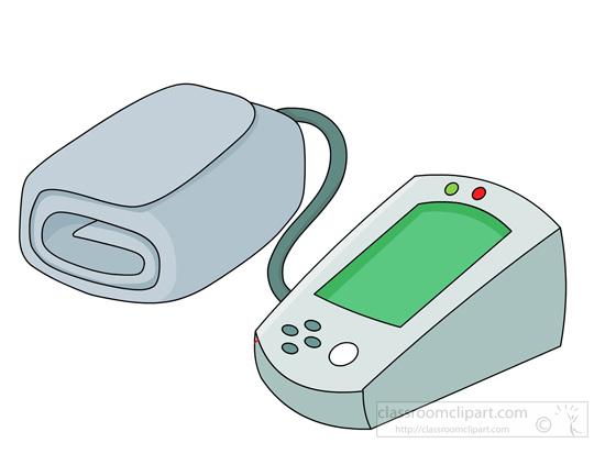 Blood Pressure Meter Clip Art.