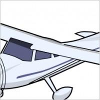 Small Plane Clipart.