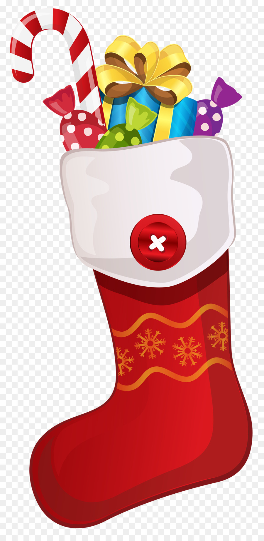 Candy cane Christmas Stockings Clip art.