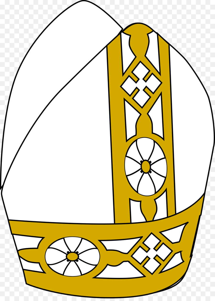 Pope Hat Clip art.