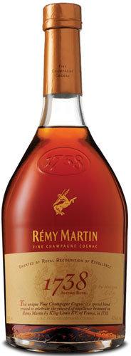 Remy Martin Cognac 1738 Accord Royal.