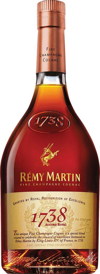 Remy Martin 1738 Cognac.