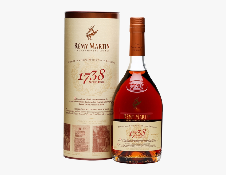 Remy Martin 1738, HD Png Download , Transparent Png Image.
