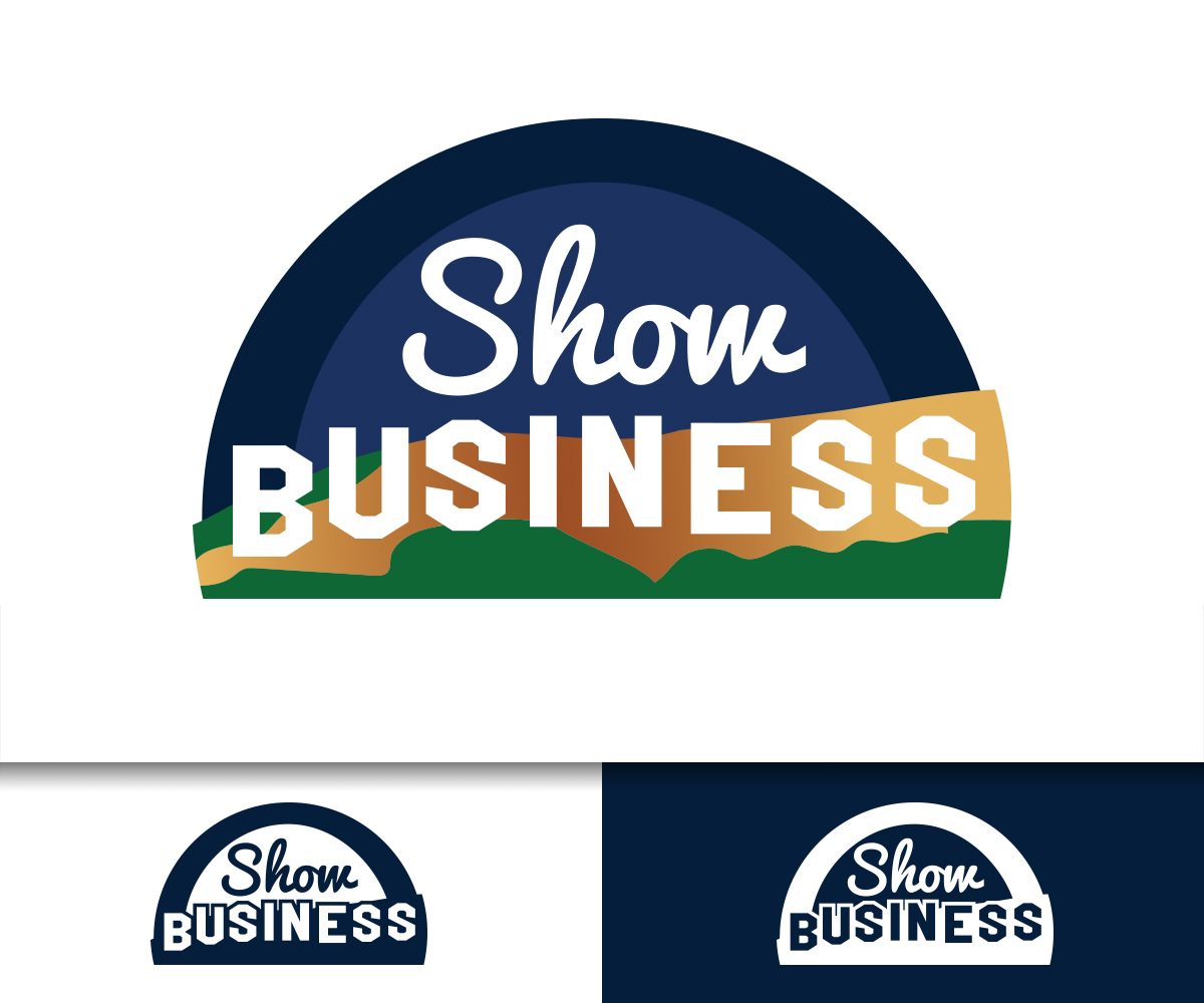 Upmarket, Bold, Business Logo Design for SHOW BUSINESS by.