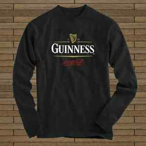 Details about Guinness Beer Vintage 1759 Logo New Long Sleeve Tee.