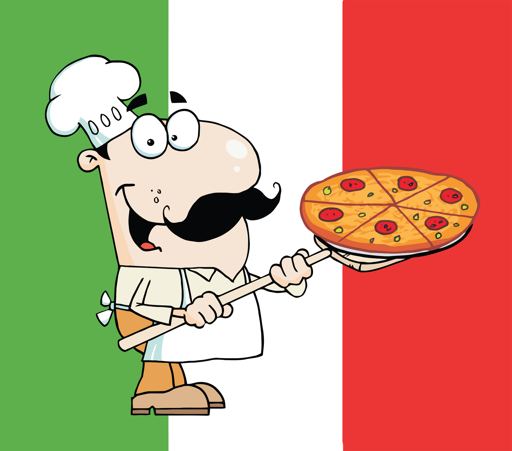 Italian Chef Clipart.