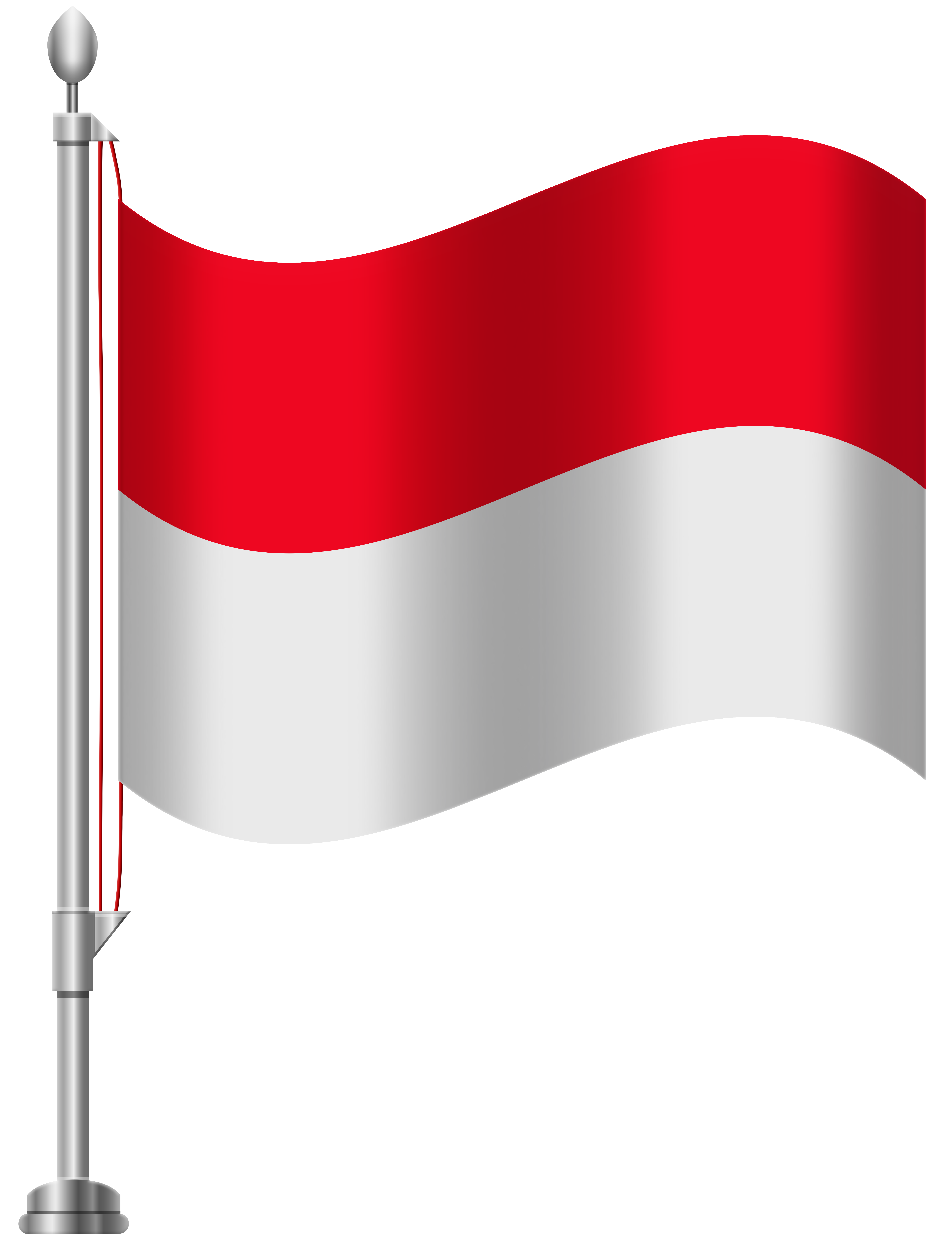 Indonesia Flag PNG Clip Art.