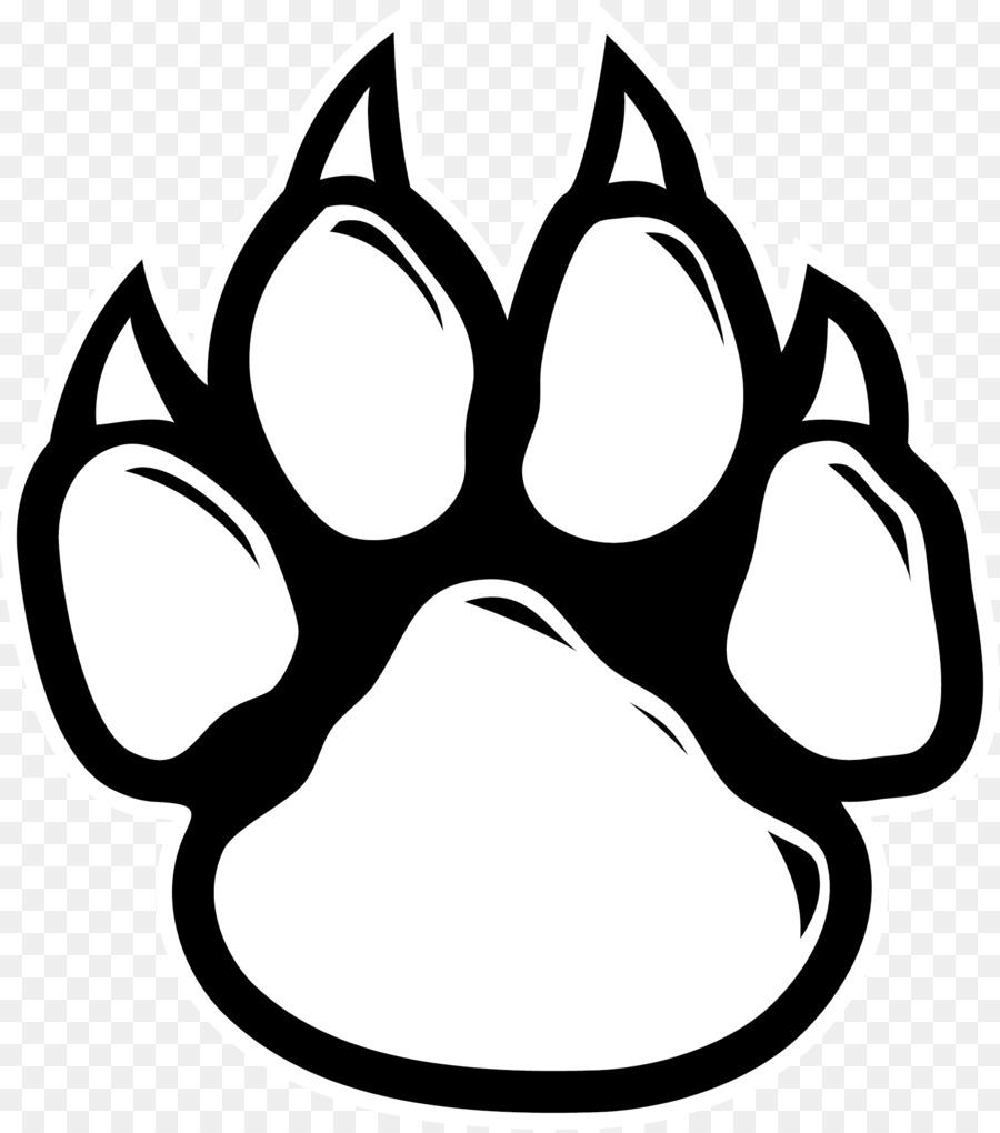 Wildcat Paw Dog Clip art.