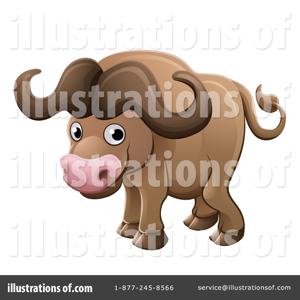 Buffalo Clipart #1417702.