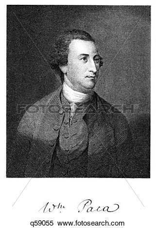 Stock Image of 1700S 1770S 1776 William Paca Signer Of Declaration.