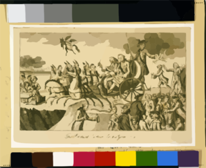 The Political Cartoon For The Year 1775 Clip Art at Clker.com.