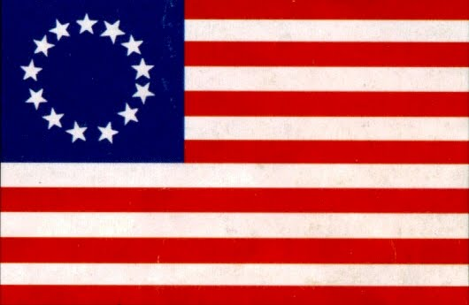 1776 American Flag Clipart.