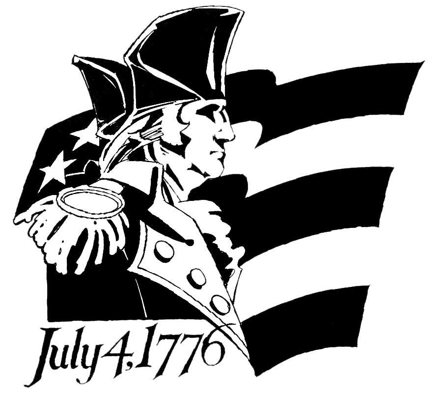 4th Of July Soldiers Clipart.