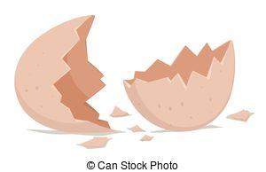 Broken egg shell Clip Art Vector Graphics. 1,776 Broken egg.