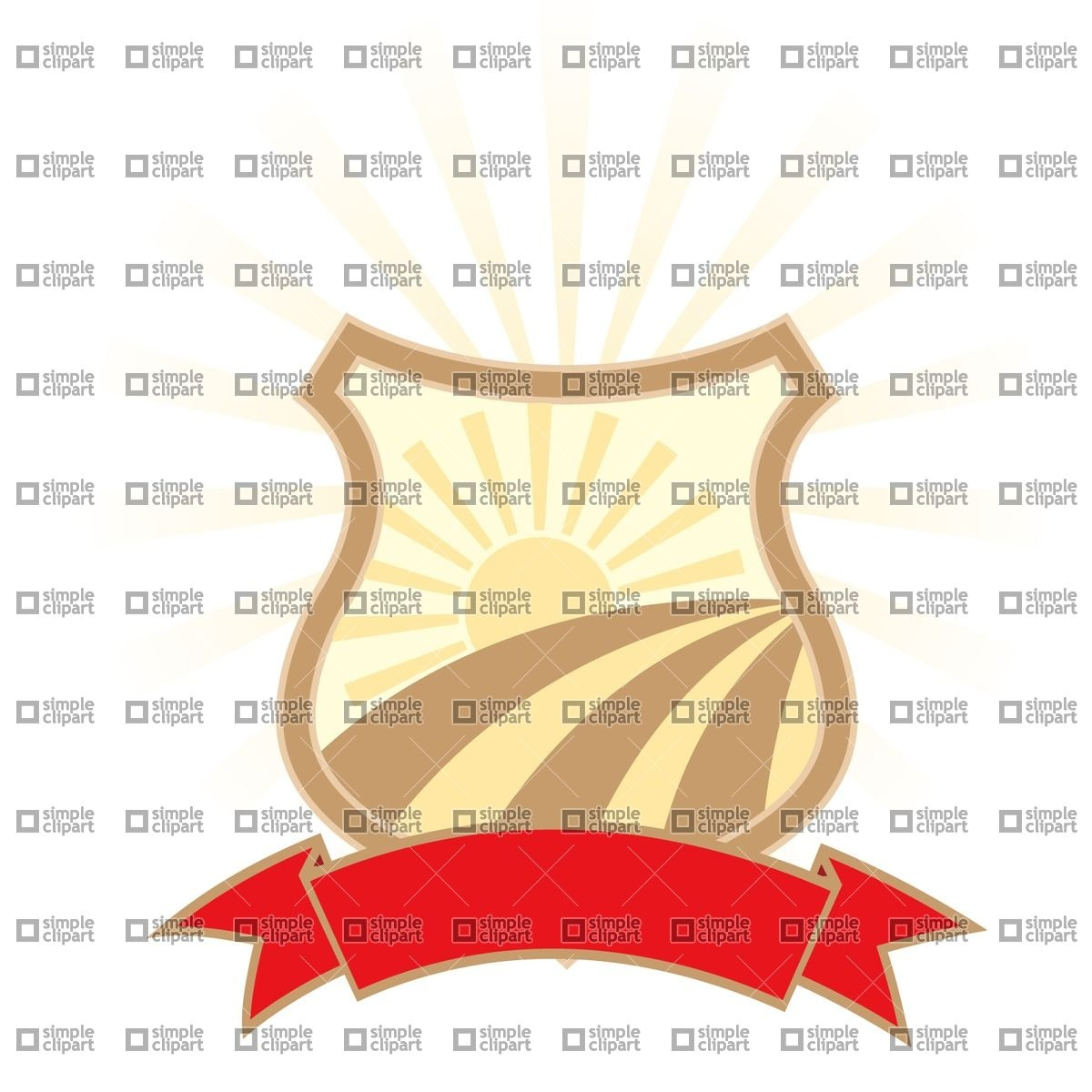 Agriculture industry emblem Vector Image #1784.