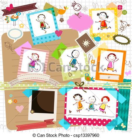 Photo frame kids Illustrations and Clip Art. 1,784 Photo frame.