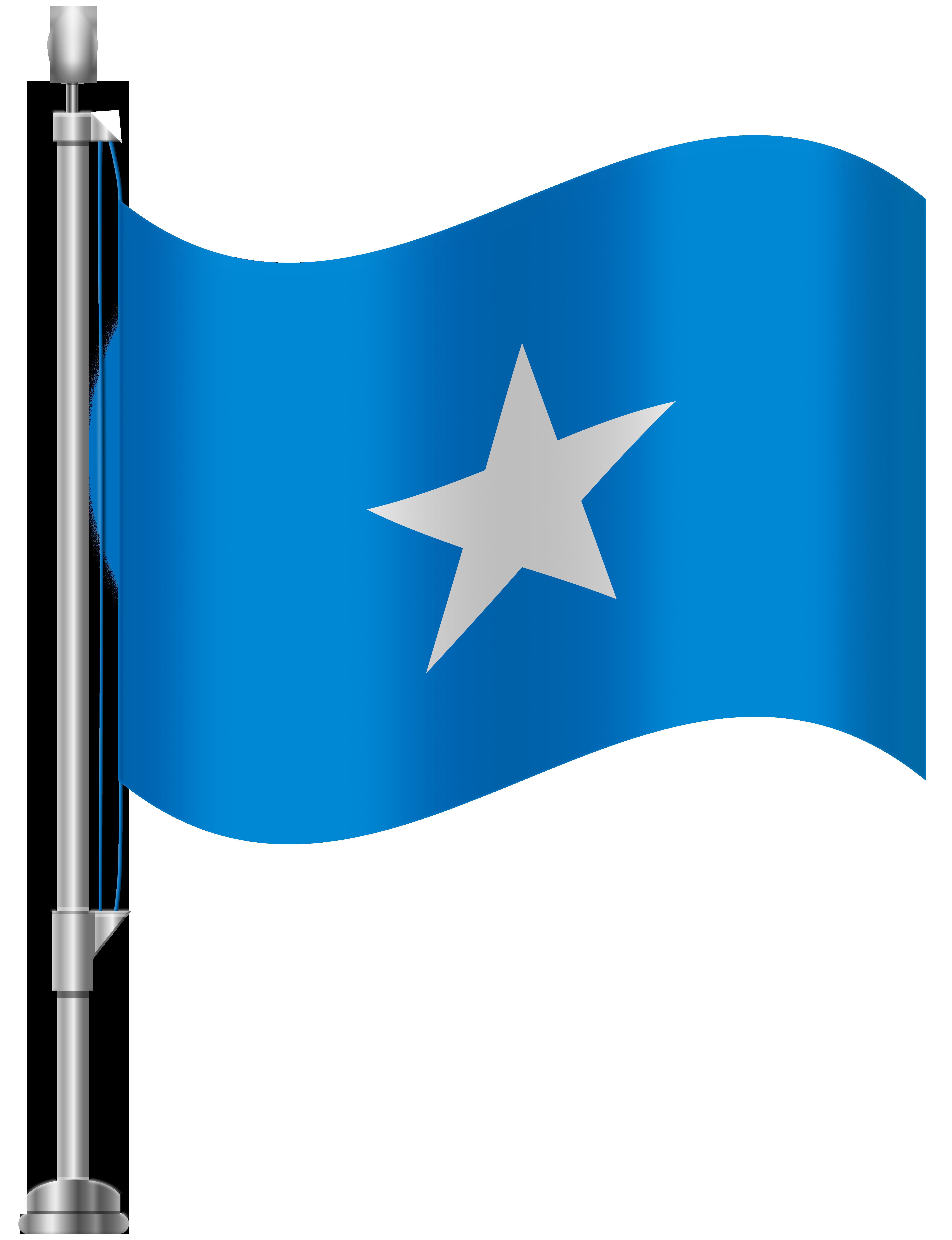 Somalia Flag PNG Clip Art.