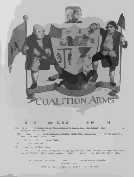 Coalition Arms / Jn: 1784. Clip Art at Clker.com.