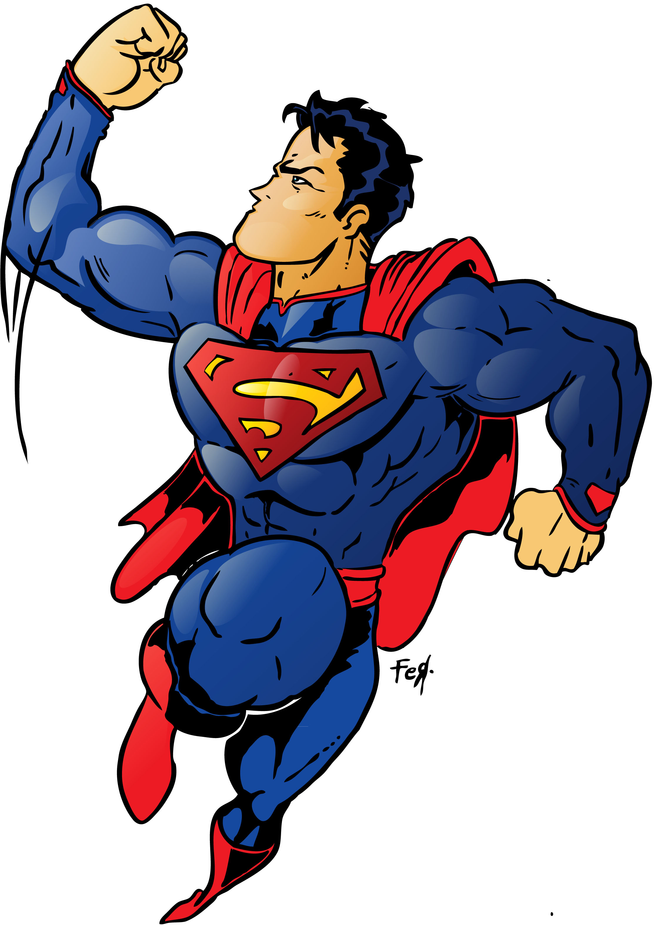 19 Best Images About Artist Brandon Miller On Pinterest: Superman Hd Clipart 20 Free Cliparts