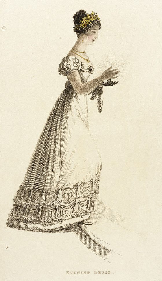 Fashion Plate (Evening Dress).