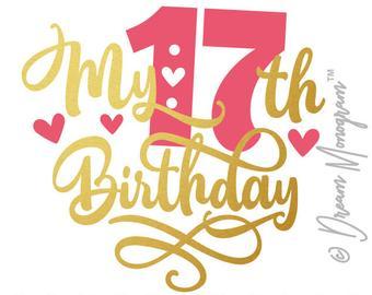 17th birthday.