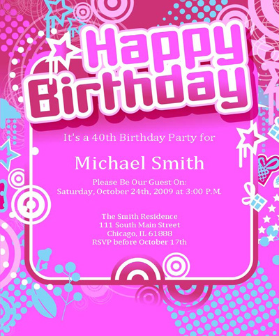 Free to use and share birthday invitation clipart for your.