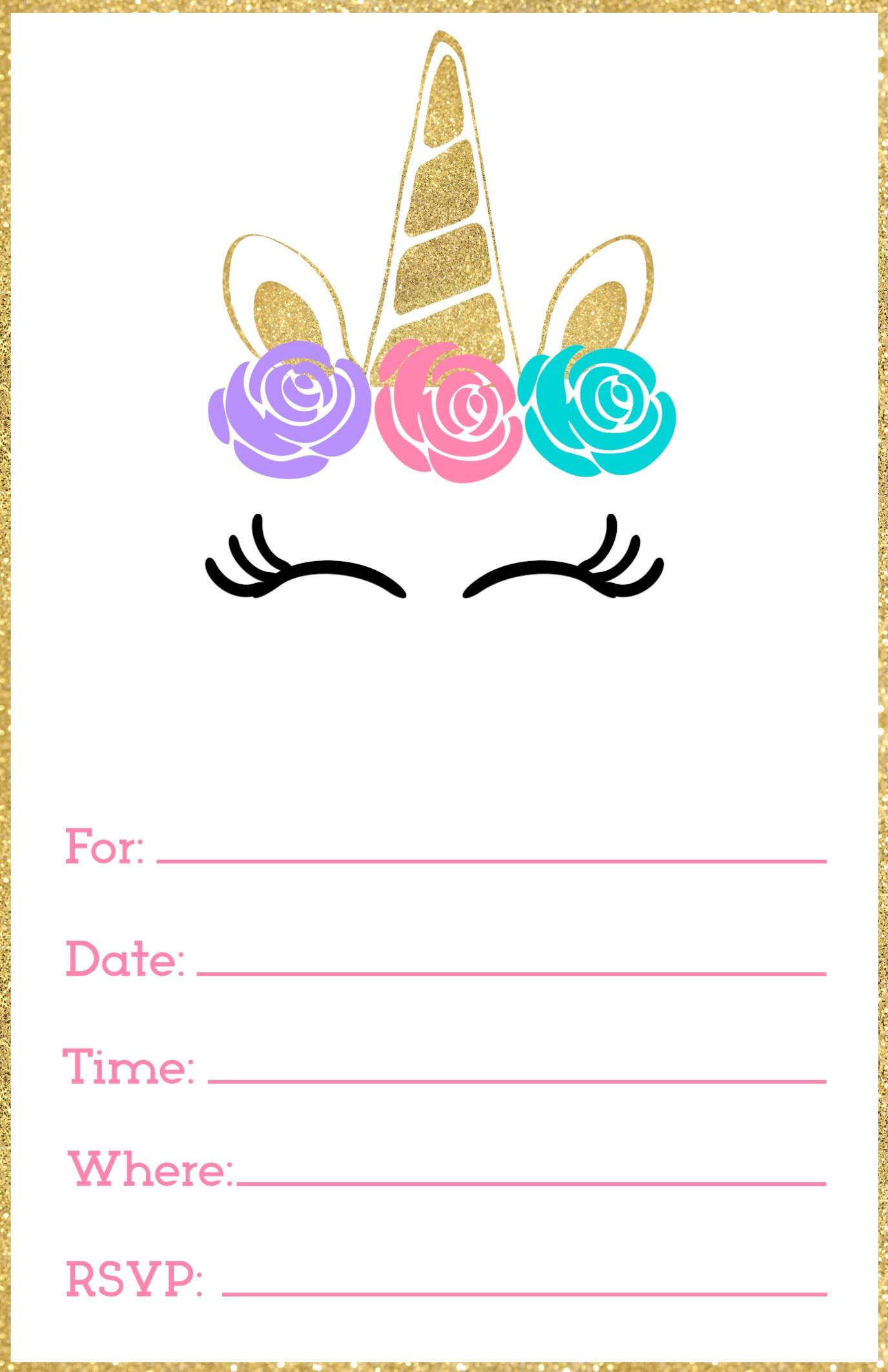 imprintable birthday invitations.