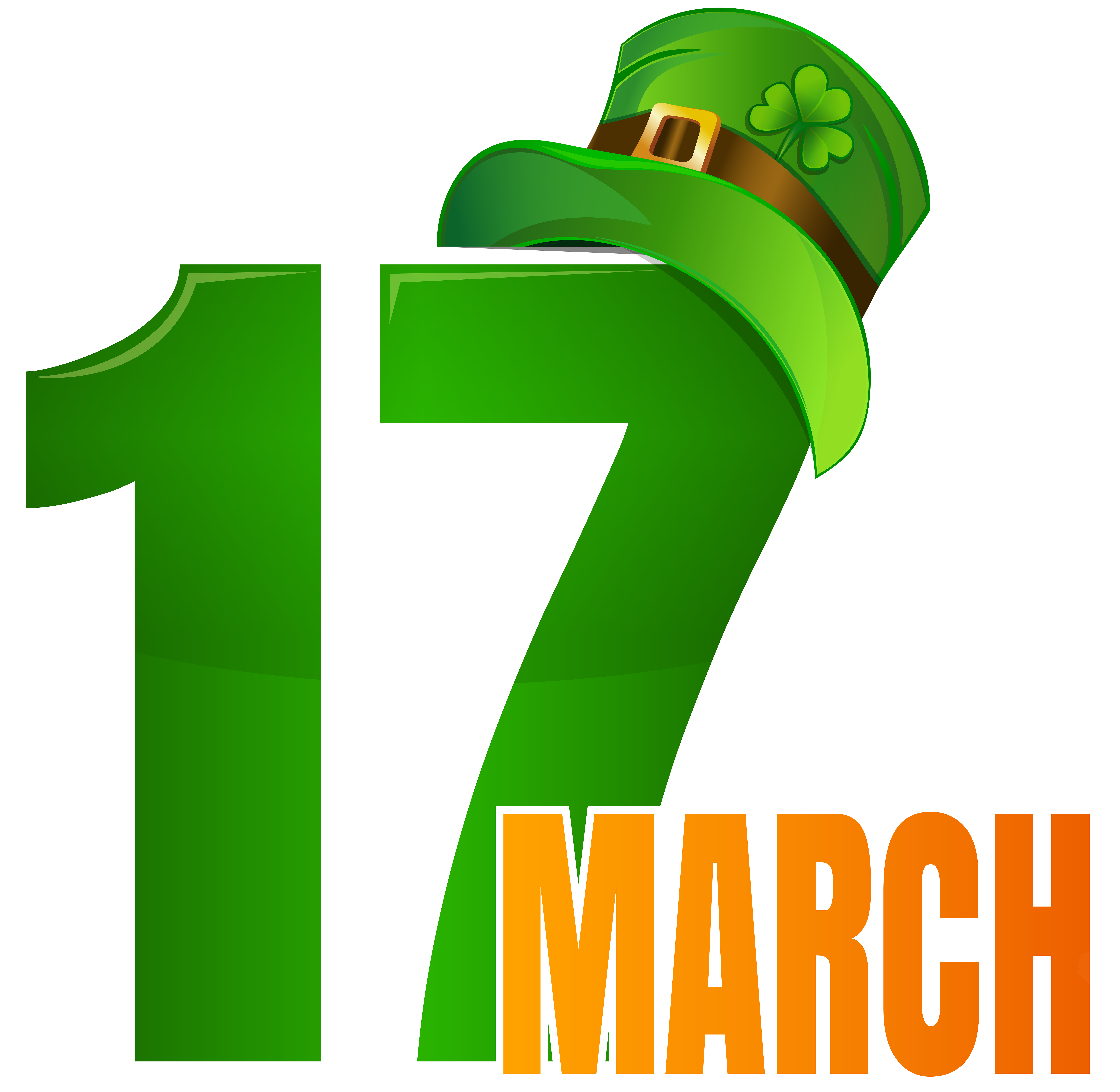 17 March St Patrick.