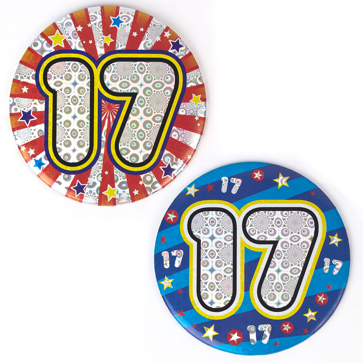 Birthday Badges From 39p.
